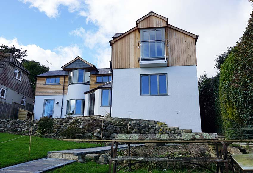Smarts aluminium windows modern house