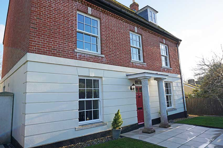 PVC-U sash windows Dorset