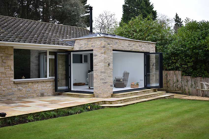 BI-FOLD DOOR FOR EXTENSIONS