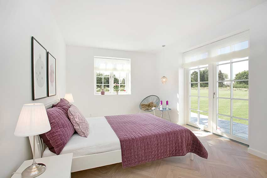 French-doors-Timber-bedroom