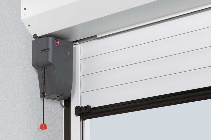 Hormann remote garage door motor