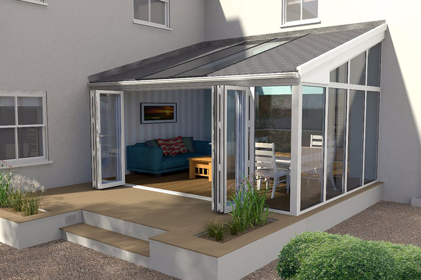 380 Warm roof for conservatory