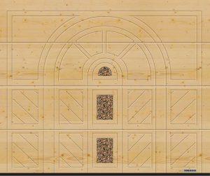 Hormann garage door design