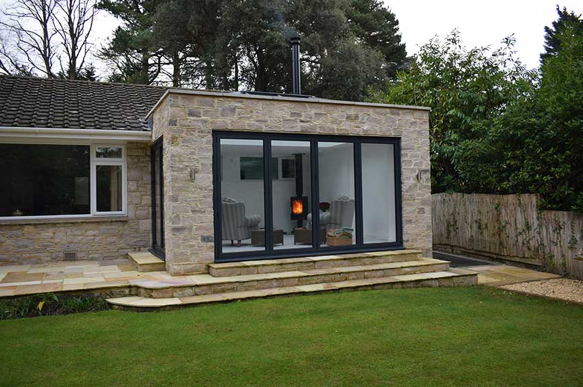 Contemporary Orangery in Dorset