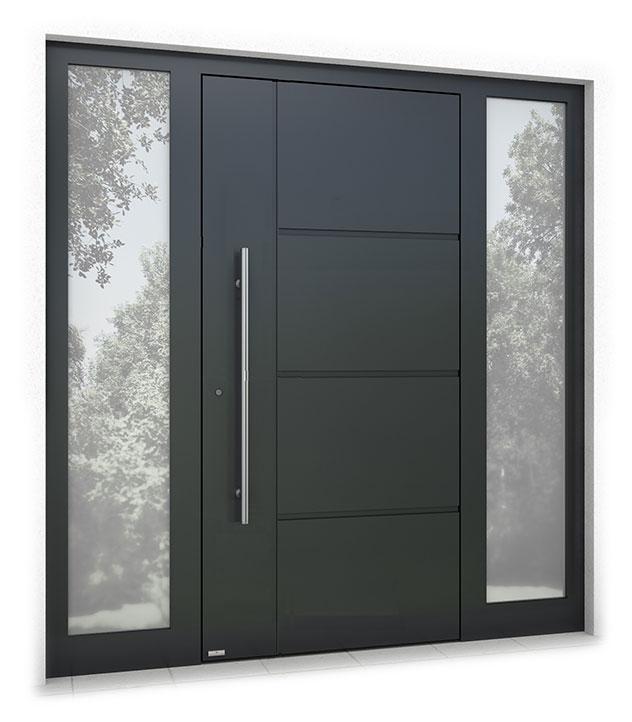 RK1400 aluminium front door