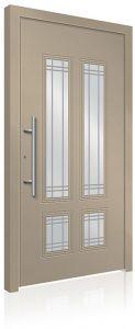 RK2500 aluminium front door