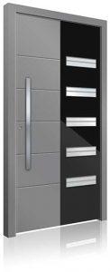 RK3050 aluminium front door