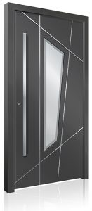 RK4060 grey aluminium front door
