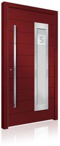 RK4090 aluminium front door