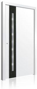 RK5030 white aluminium front door