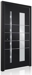 RK5110 black aluminium front door