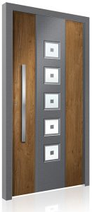 RK5200 aluminium front door