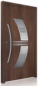 RK110 aluminium front door