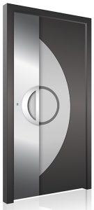 Modern aluminium front door