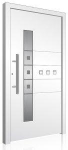 RK160 aluminium front door