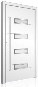 RK210 white aluminium front door