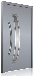 Grey RK aluminium front door