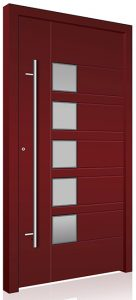 Red Security RK aluminium front door