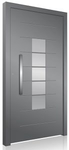 Security RK aluminium front door