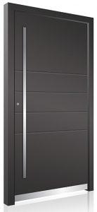 RK330 modern aluminium front door