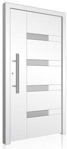 Aluminium front door modern