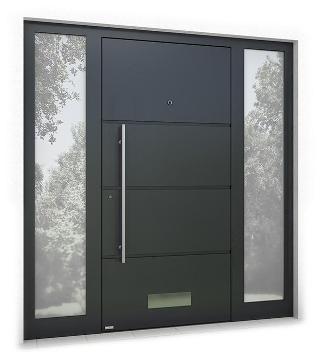 RK1100 aluminium front door
