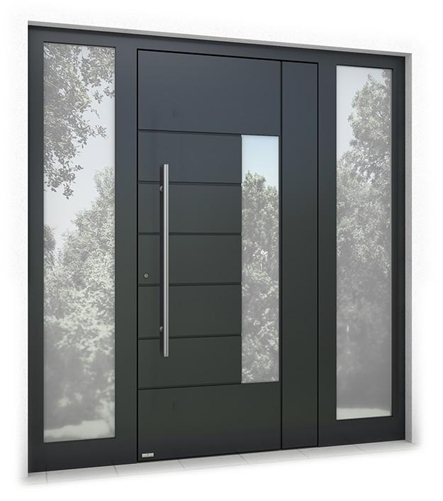 RK1200 aluminium front door