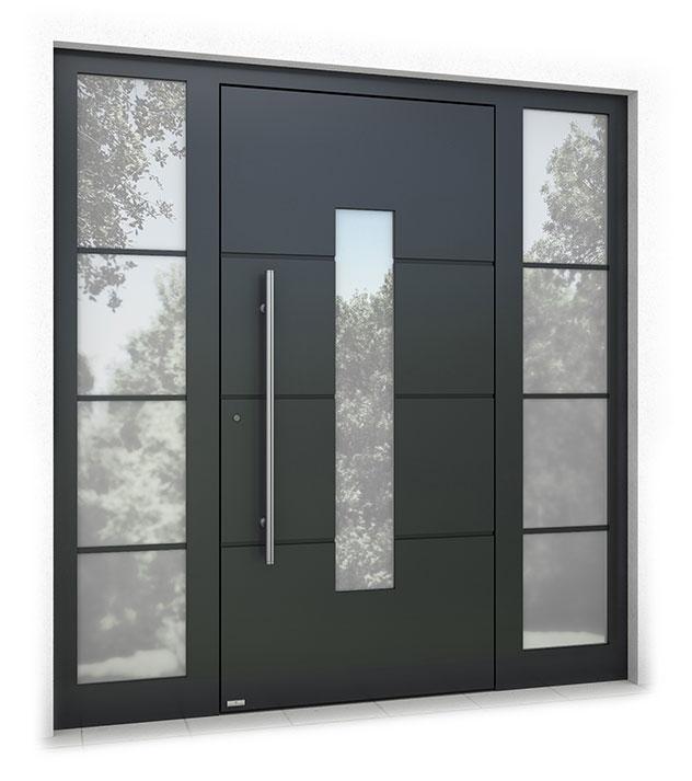 RK1300 aluminium front door