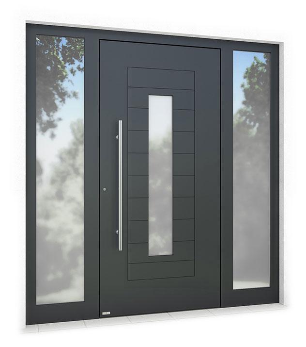 RK1600 aluminium front door