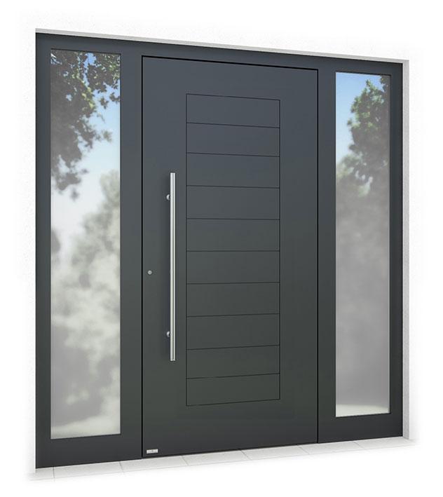RK1700 aluminium front door
