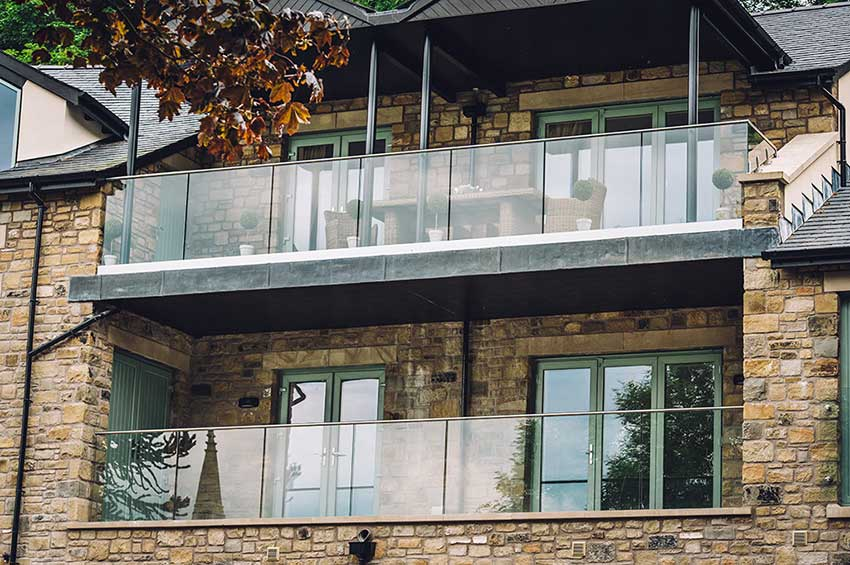 Frameless glass balustrades dorset