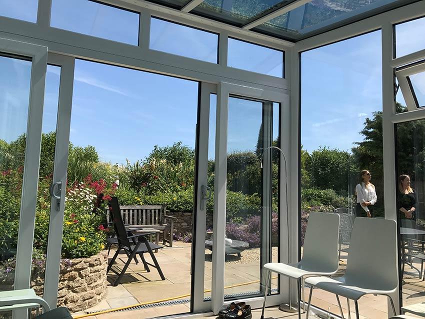 Garden conservatory installers Dorset