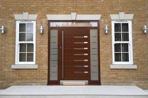 RK Aluminium pivot doors