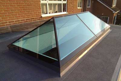 Slimline roof light
