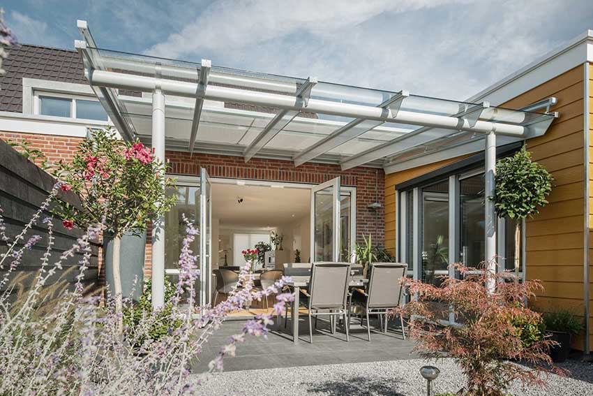 Solarlux glass canopy anova